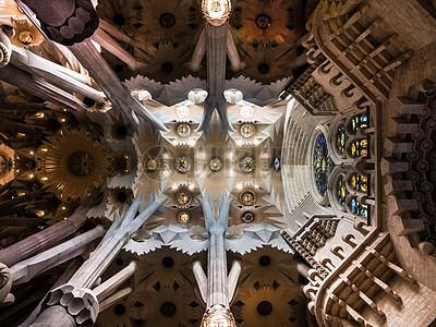 大教堂天花板图片
