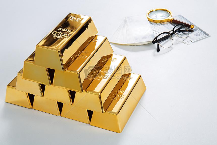 金融储蓄素材金砖图片