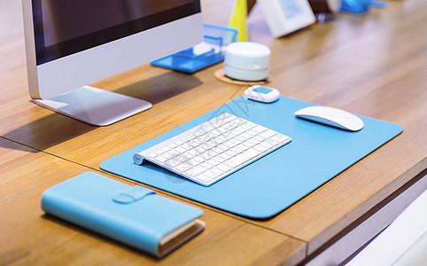 MAC电脑计算机办公桌面图片
