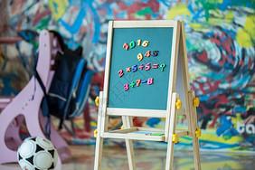 学校小黑板背景图片