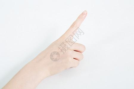 手指点击图片