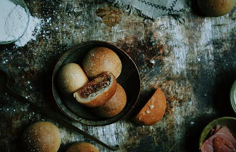 云腿月饼图片