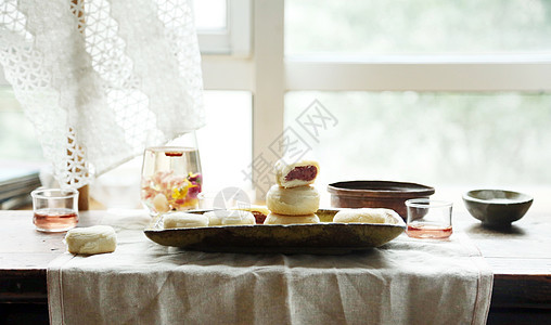 鲜花餅图片