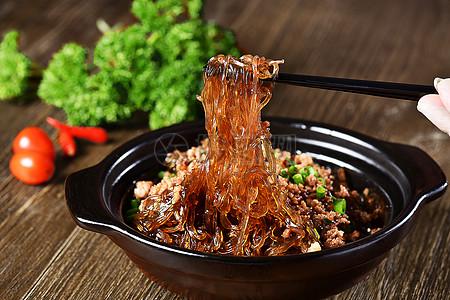 蕨根粉 粉条 粉丝菜品 凉拌菜图片