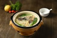 蔬菜汤 豆腐腐竹木耳汤图片