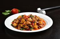 香辣川菜土豆图片
