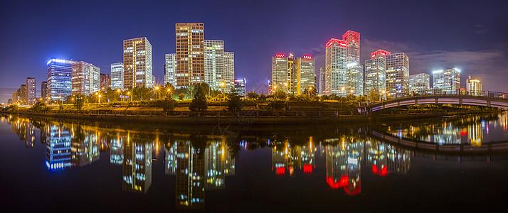 全景夜景·CBD图片