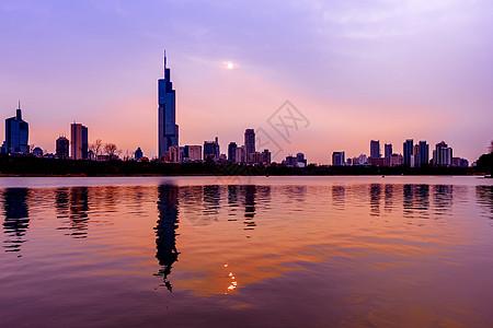 南京傍晚图片