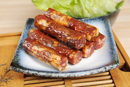 腊肠 腊肉 熏肉食材 肉类制品图片