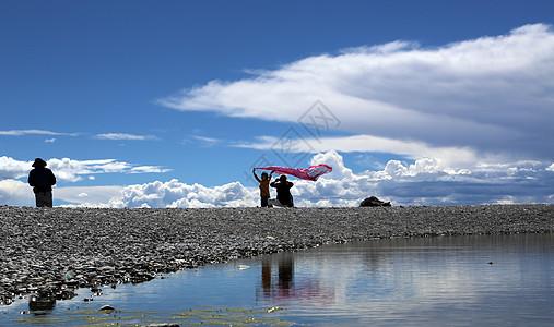 纳木错湖图片