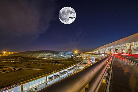 中秋·首都机场T3图片