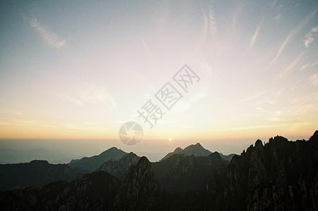 黄山日出图片