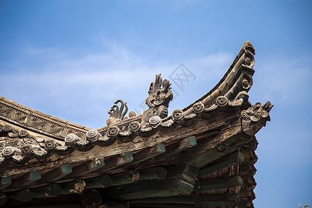 古代屋顶图片