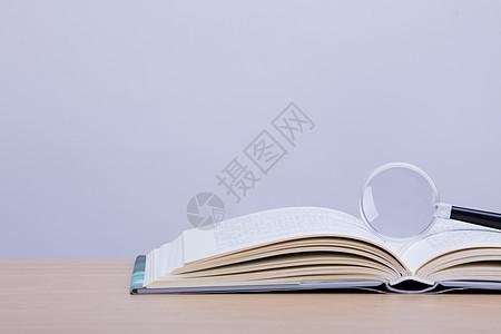 知识书本创意摆拍图片