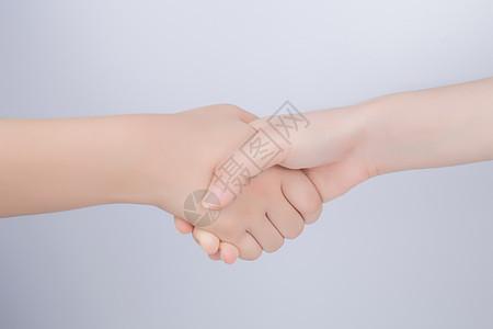 团队握手商务合作图片