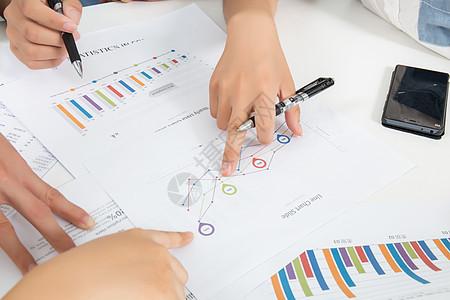 商务团队数据分析图片