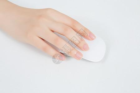 手指操作电脑鼠标图片
