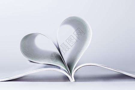 教育知识书本心形创意图片