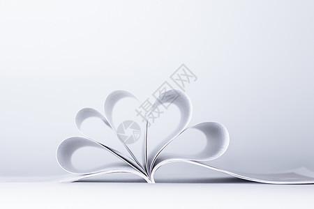 教育知识书本创意翻卷图片