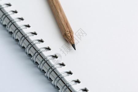 创意学习办公文具桌面摆拍图片