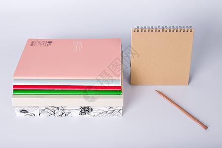 教育日历书本创意摆拍图片
