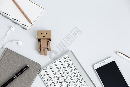 创意学习办公桌面文艺摆拍图片