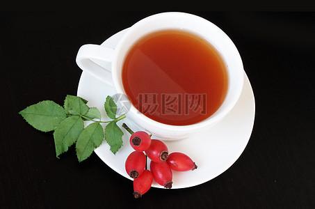 玫瑰果茶图片