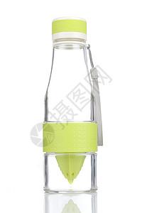 绿色汽水杯图片