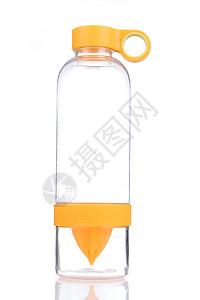 黄色透明玻璃水杯图片