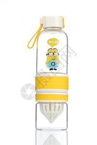 小黄人玻璃水杯图片