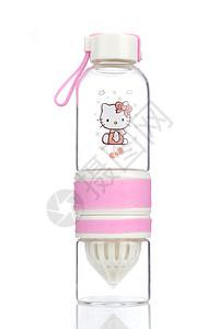 KT猫玻璃水杯图片