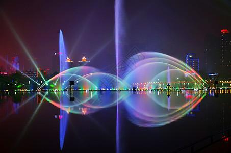 龙湖夜景图片
