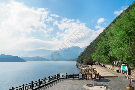 湖南东江湖图片