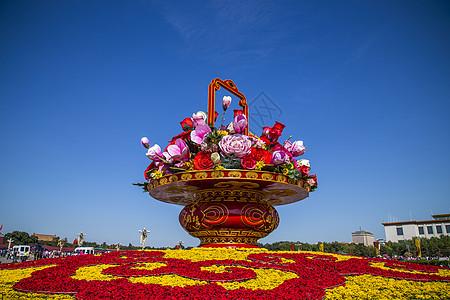 国庆节的花篮图片