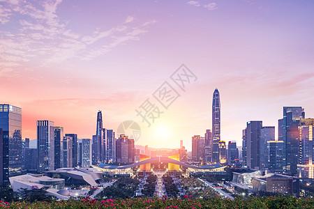 深圳莲花山市民中心图片