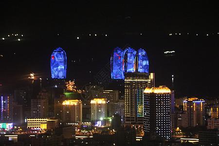 三亚凤凰岛的夜晚图片