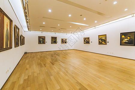 人文艺术美术馆展览空间高清图片