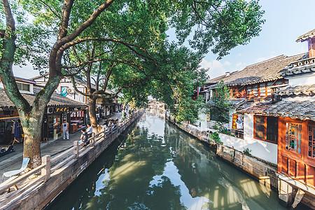 上海朱家角古镇古建筑群图片