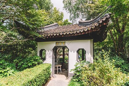 古建筑园林花园环境结构图片