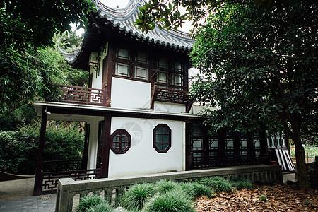 公园古典建筑图片