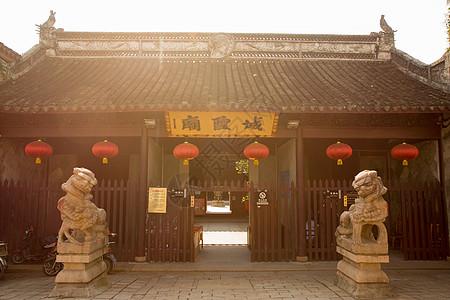 旅游朱家角古镇城隍庙图片