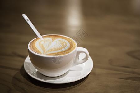 咖啡玻璃杯图片
