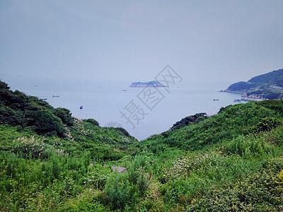 海边远景图图片