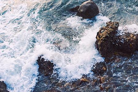 浪花迷人图片