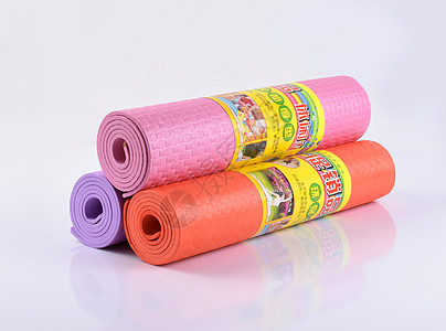 瑜伽垫产品白底图网上展示图图片