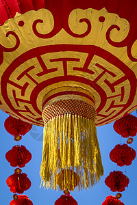 庆典的红笼图片