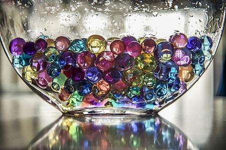 色彩的水晶图片