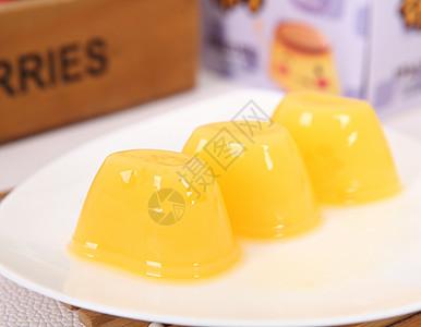 柠檬布丁水果冻图片