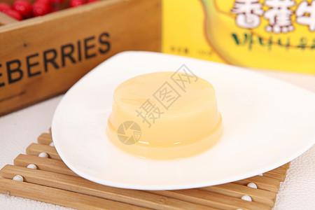 法式鸡蛋布丁图片