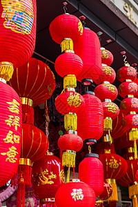传统工艺品灯笼喜庆国庆图片